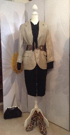 Mannequin portant une sélection faite en boutique